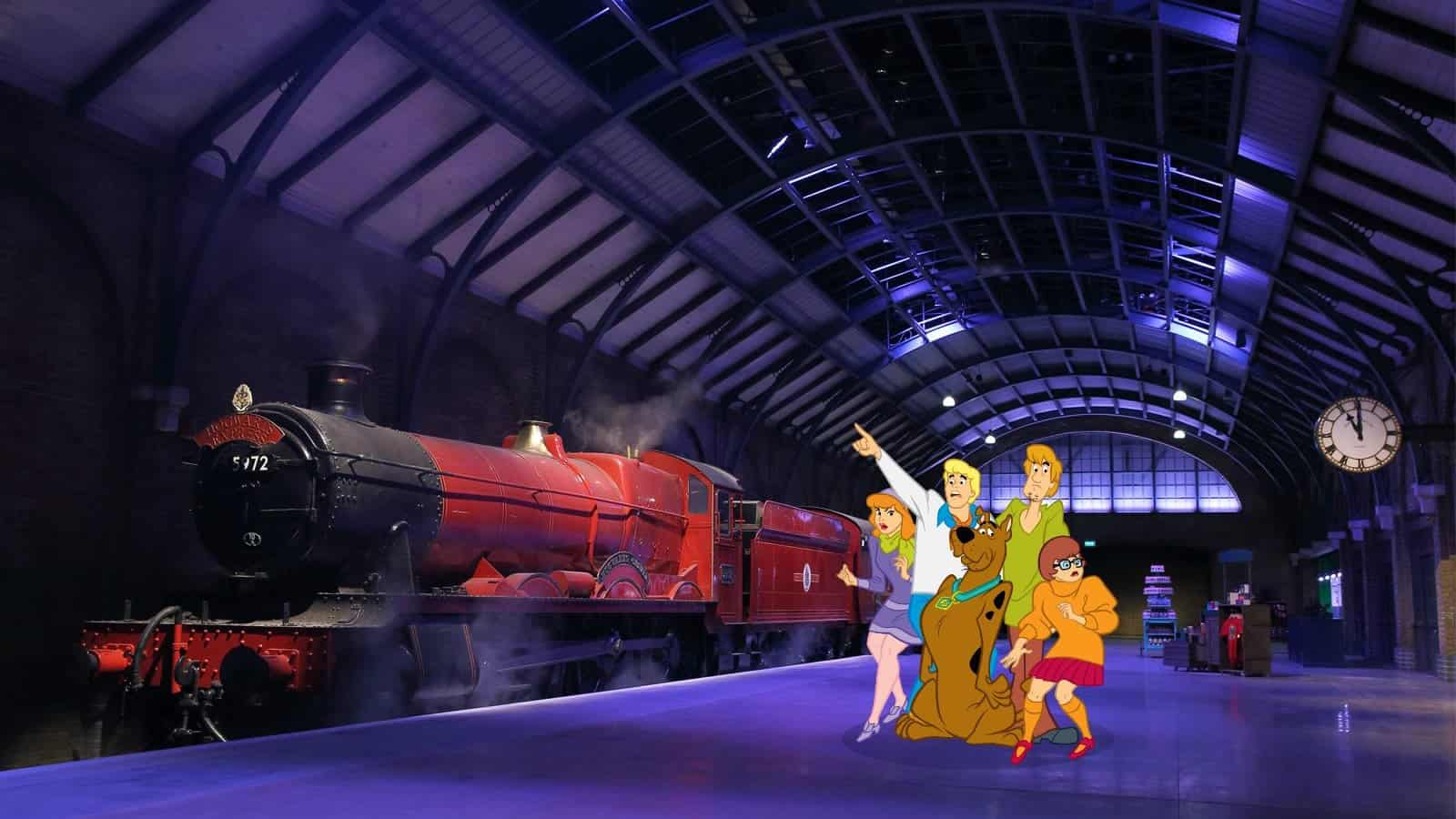 Scooby Doo Gang Goes to Hogwarts
