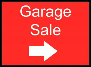 frugal garage sale