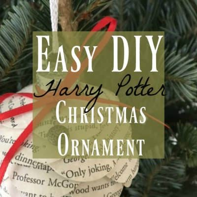 Easy DIY Harry Potter Christmas Ornaments You'll Want to Make