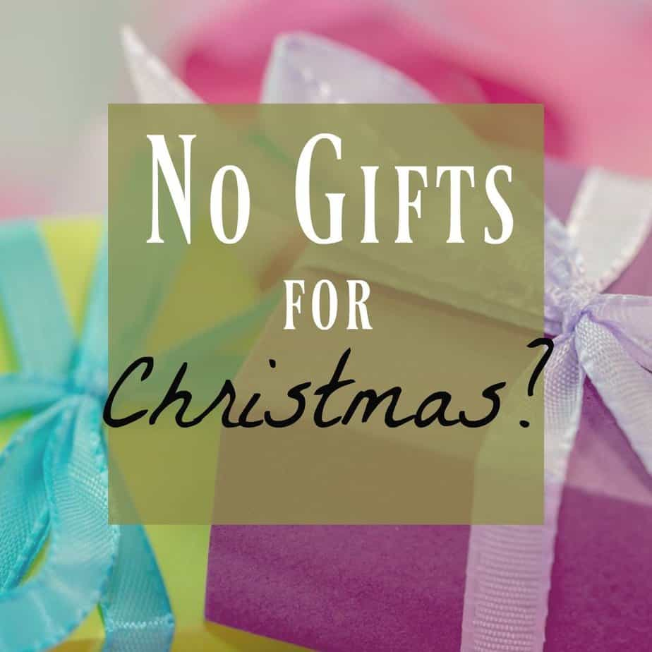 Giving Experiences not gifts