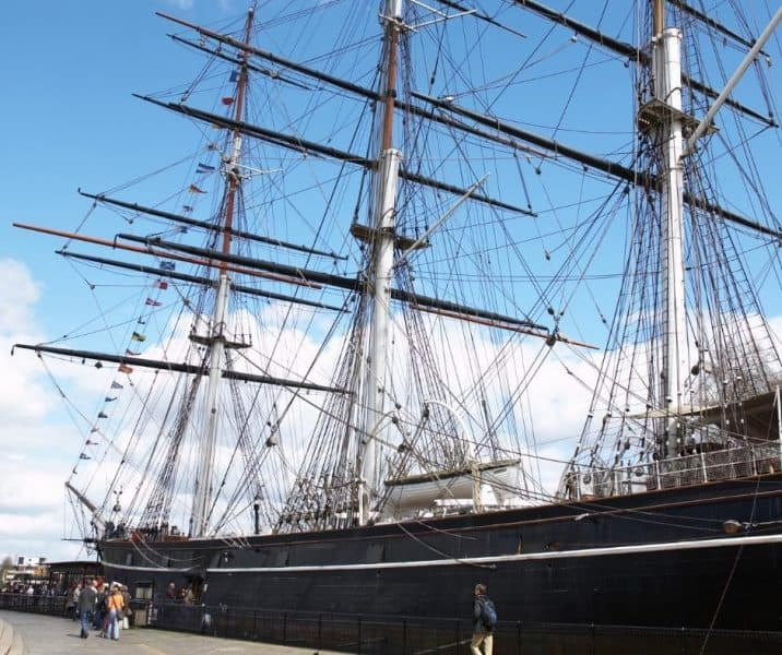 One of the favorite things to do in Greenwich London is visit the Cutty Sark