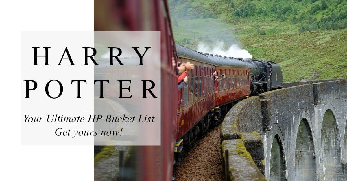 Harry Potter bucket list