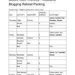 How to Pack a Minimalist Backpack Work Weekend Retreat 6
