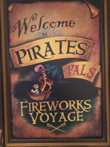 Pirate Fireworks adventure