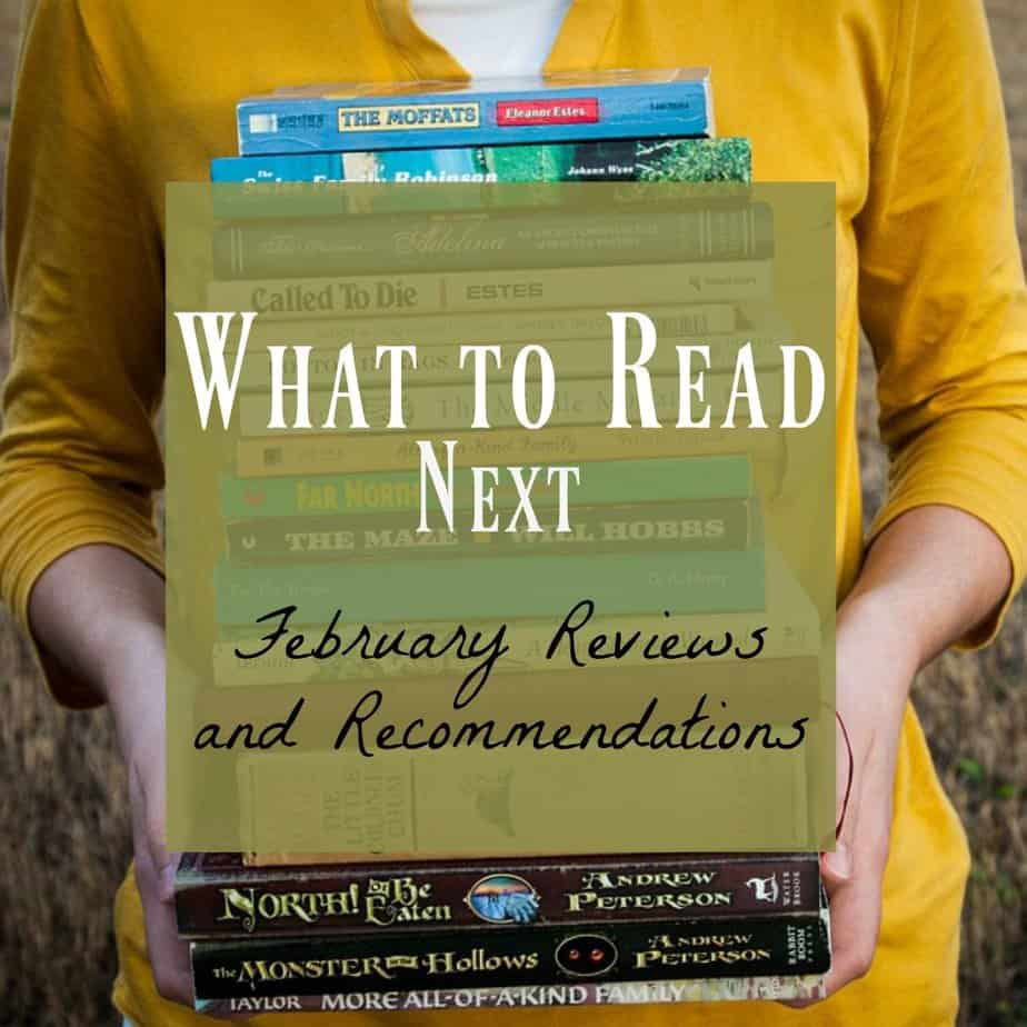 What to read next February book reviews