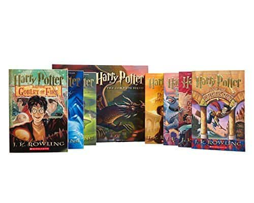 Harry Potter series books set in London