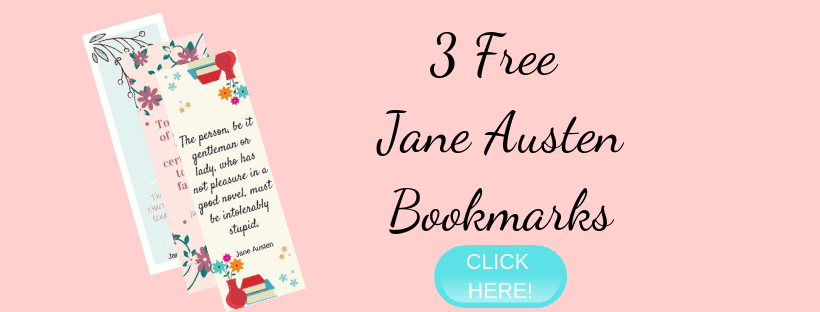 Jane Austen bookmark opt in