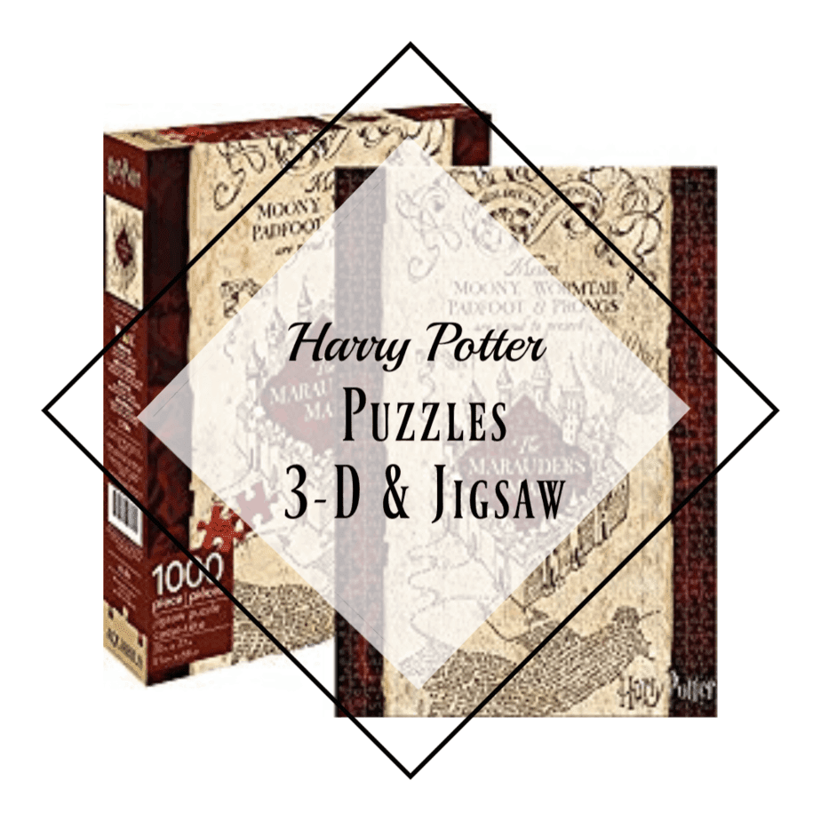 Hogwarts Puzzles, image of the Maurader's Map puzzle completed with box