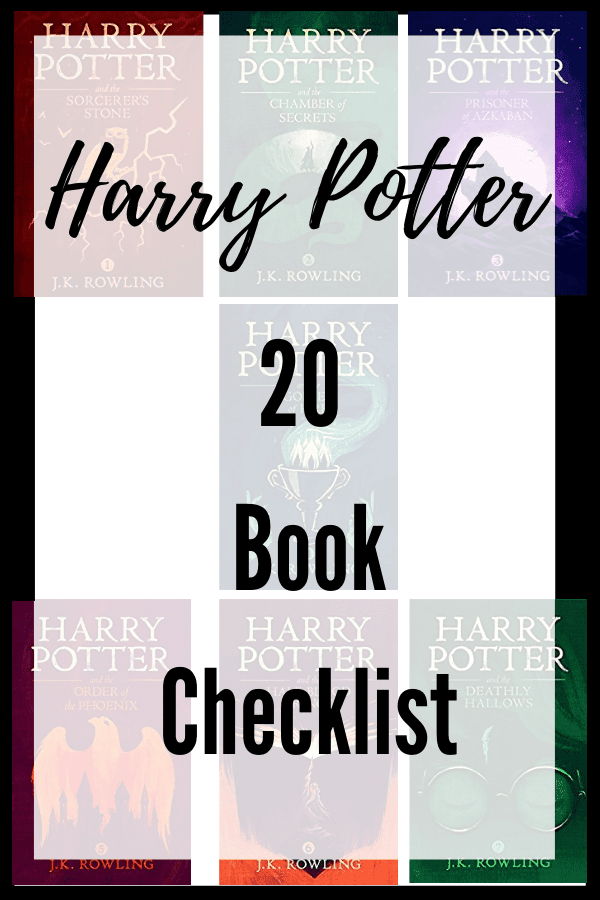 Want to join a Harry Potter reading challenge? Check out what order to read in and grab a checklist of all the books!