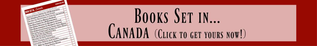 books set in Canada banner