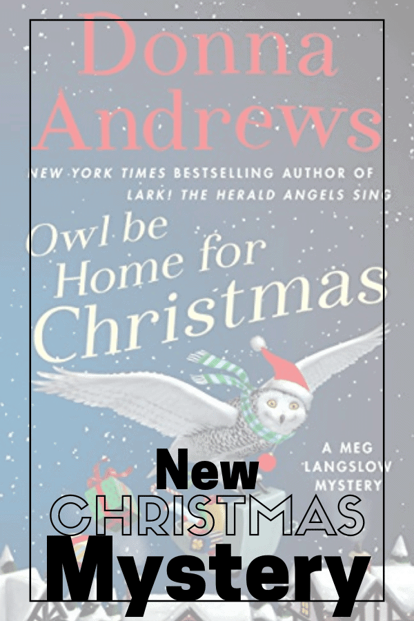 book cover for Owl Be Home for christmas