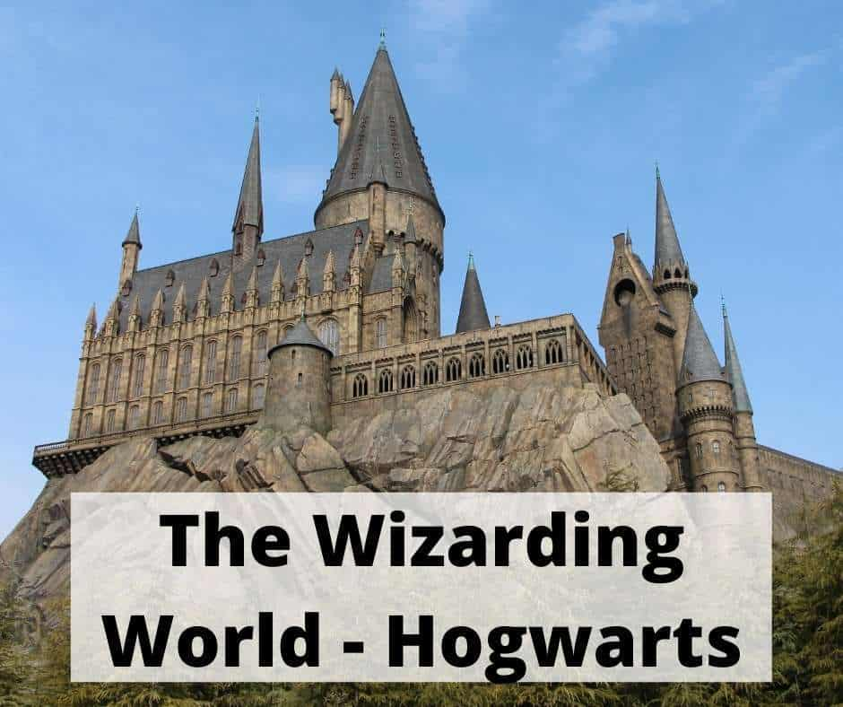 the Hogwarts Castle at the Wizarding World is a great Harry Potter Destination