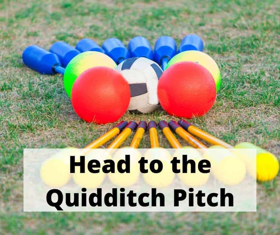 Watch a quidditch match on your Harry Potter vacation