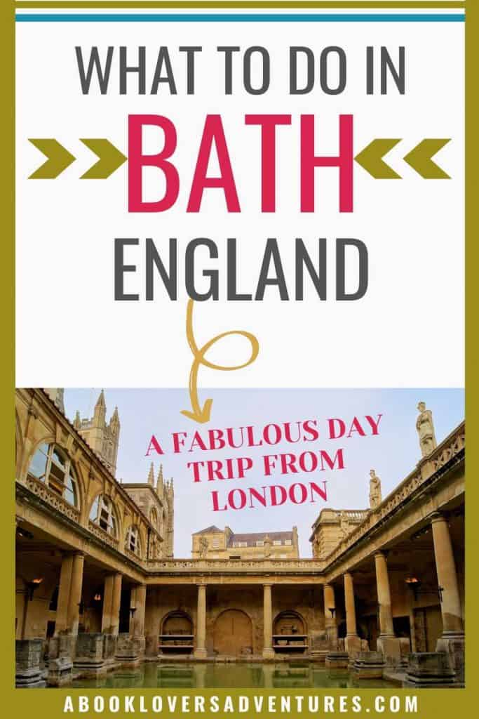 Plan a great one day outing in Bath England. Bath is an easy day tip from London, and I've got a FREE one day itinerary just for you!