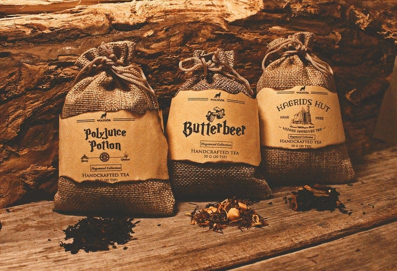 Harry Potter tea collection