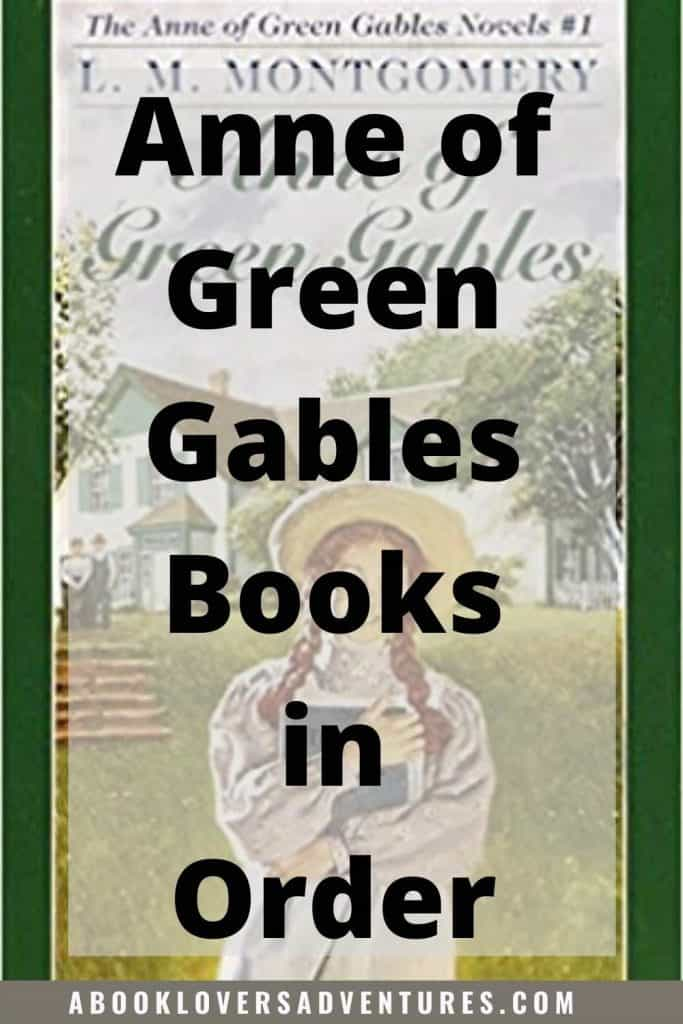 Anne of Green Gables books in order