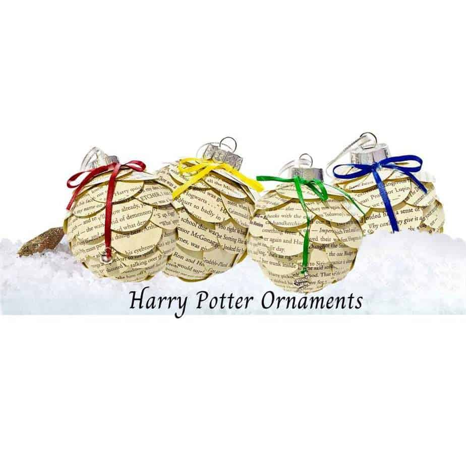 15 Magic Ideas for your Harry Potter Christmas Tree 9