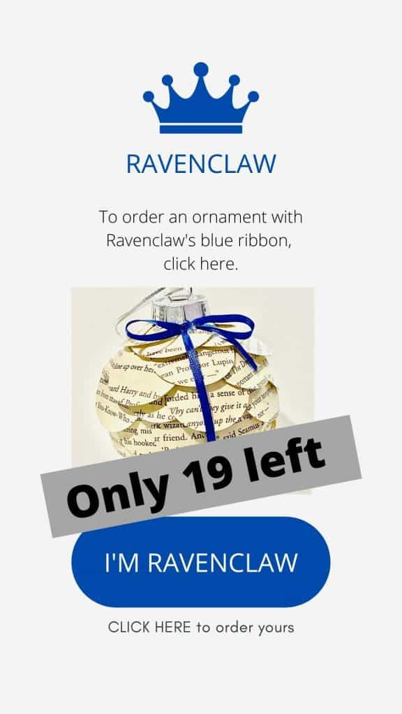 Harry Potter Ravenclaw ornament
