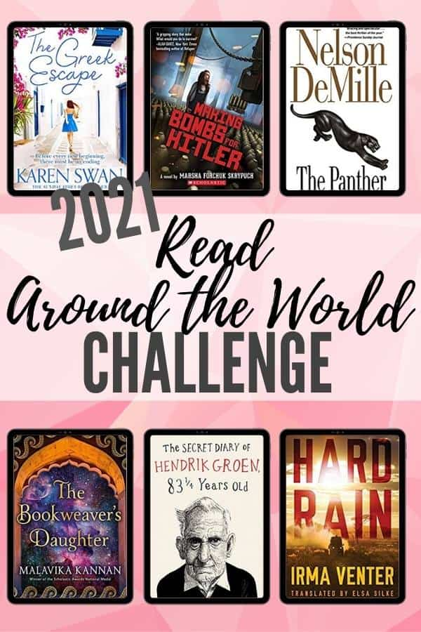 2021 Read Around the World Challenge