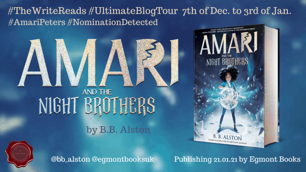 Book Review - Amari and the Night Brothers 2