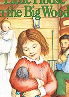 Little House in the Big Woods books cover