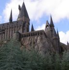Hogwarts castle at the Wizarding World in Orlando