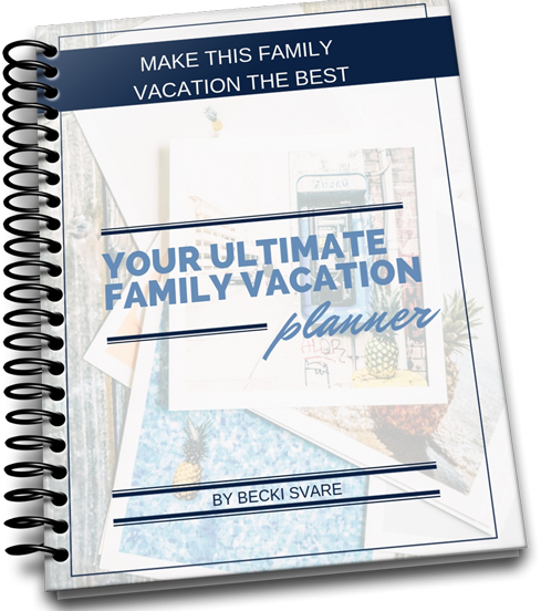 vacation planner cover